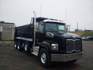 2020 western star 4700sb tri axle dump