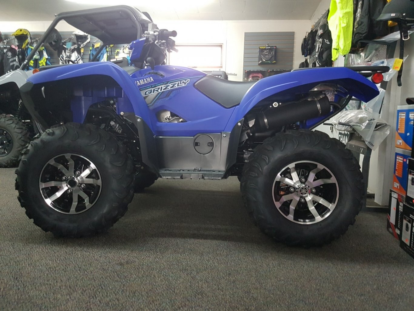 2018 Yamaha Grizzly EPS