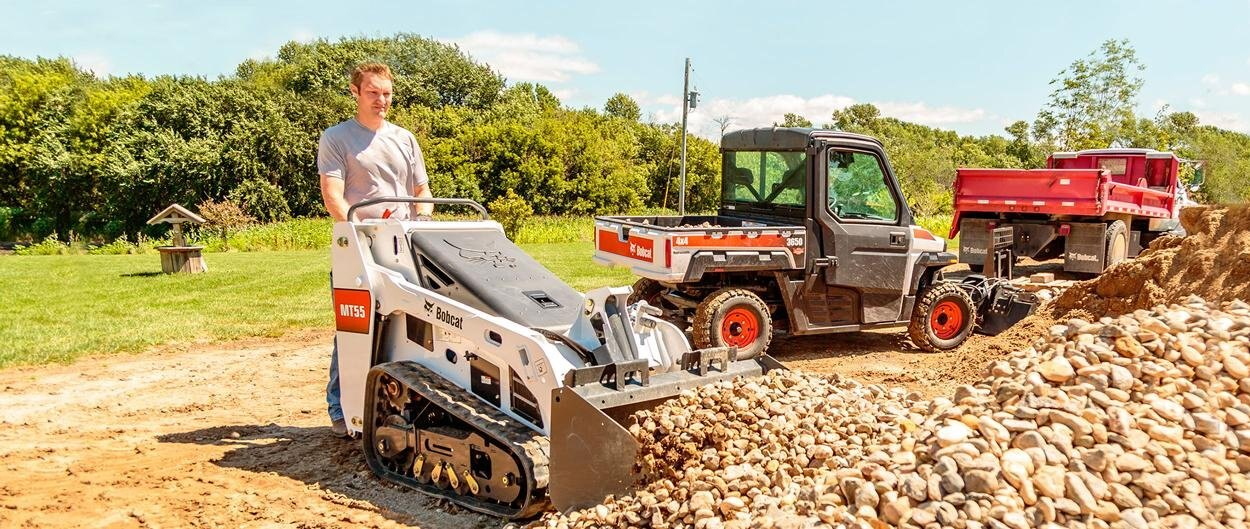 2018 Bobcat MT55 Mini Track Loader McGavin Farm Equipment Ltd