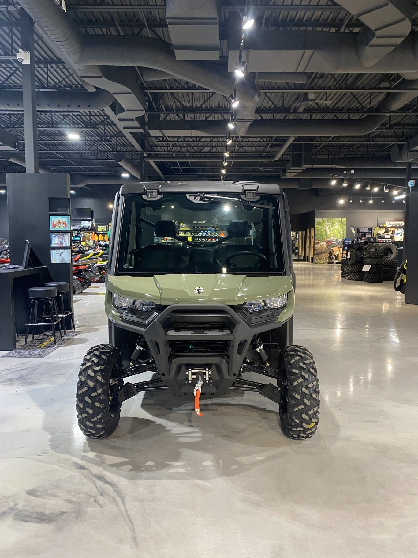 2021 Can-Am Defender DPS Cab HD8 Can am dealer in 647 ...