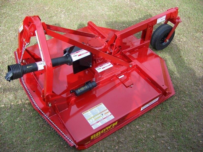 Farm Fleet|Brown Rotary Cutter Tree Cutter