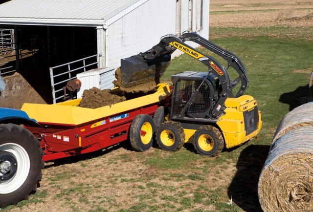 New Holland Light Construction|New Holland Skid Steer Loaders